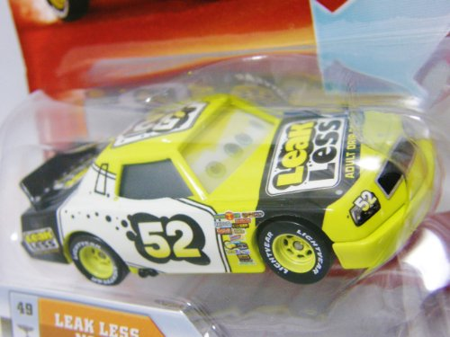 Disney / Pixar CARS Movie 1:55 Die Cast Car with Lenticular Eyes Leak Less No. 52