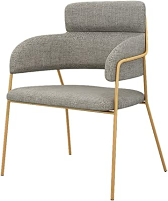 Amazon.com: TUSY Modern Dining Chair Living Room Accent Arm ...