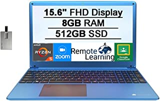 "2021 Gateway 15.6"" FHD Ultra Slim Notebook Laptop Computer, AMD Ryzen 5-3450U(Beats Intel i5-1035G1), 8GB RAM, 512GB SSD, ..."