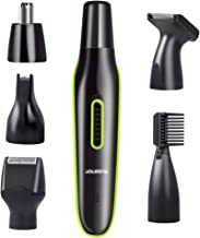 Nose Hair Trimmer Rechargeable 5 in 1 Nose Trimmer for Men Women Electric Ear Hair Trimmer/Beard Trimmer/Sideburn Trimmer/...