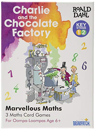 Roald Dahl 7375 Charlie and The Chocolate Factory Marvellous Juego de matemáticas, Multi