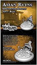 Wyrd Miniatures WYRWS013 Bases: Asian Ruins 50mm II - Abandoned Shire, One Size