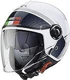 Caberg Helm Riviera V4 Elite Italien, Weiß/Schwarz, XL