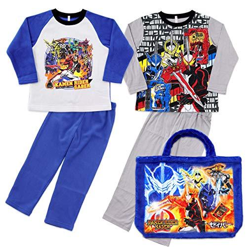 仮面ライダーセイバー パジャマ あったかおやすみセット 福袋 トートバッグ付き[2550338] 120cm ブルー