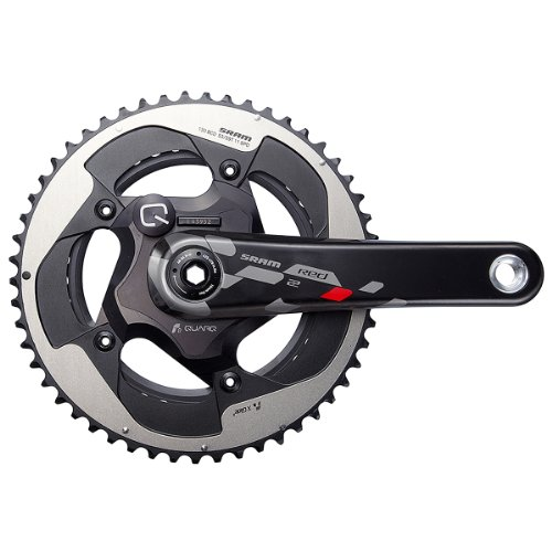 SRAM Red22 Quarq Road BB30 bielas (Platos