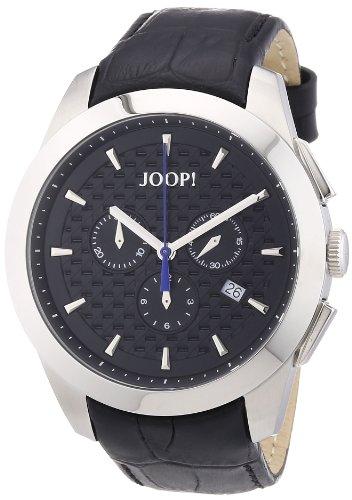 Joop Herren-Armbanduhr XL Legend Chrono Chronograph Quarz Leder JP101071F06