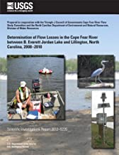 Determination of Flow Losses in the Cape Fear River between B. Everett Jordan Lake and Lillington, North Carolina, 2008?2010