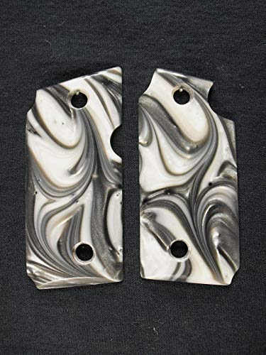 Silver & White Pearl Grips for Sig Sauer P238
