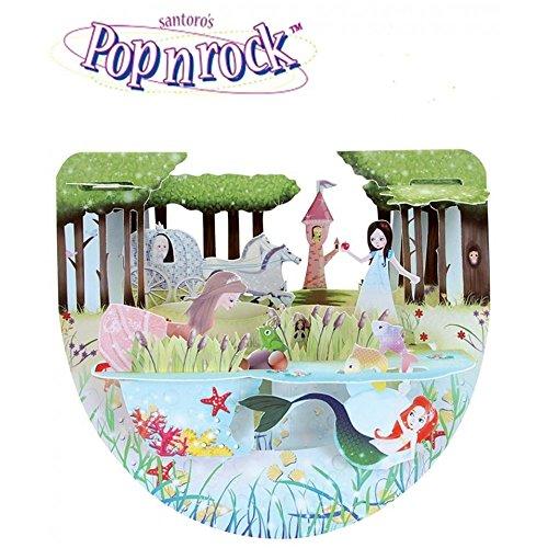 Prinzessinnen - Santoro Popnrock ™ 3D-Karten