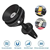 Godefa Vacuum Car Mount, Air Vent/Dashboard Car Mount Phone Holder Cradle for iPhone Xs Max R X 8 Plus 7 Plus 6S Samsung Galaxy S9 S8 Edge S7 S6 LG Sony and More