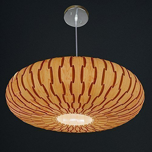 Handmade Umbrella Hanging 3-Light Pendant Lamp,made of real Maple veneer, Eco-friendly, design lamp, pendant lamp, dining rood, bedroom, wood veneer lamp