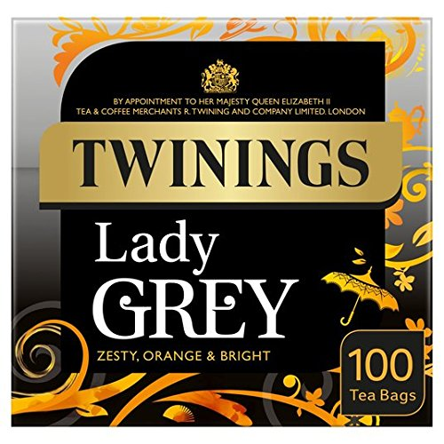 Twinings Lady Grey 100 por paquete