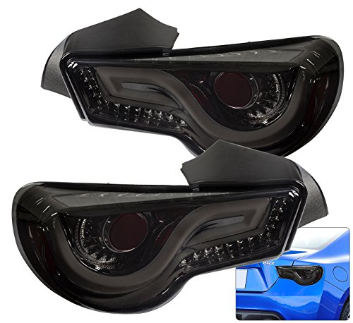 LED Streak Tail Lights Pair For FRS BRZ (Smoke)