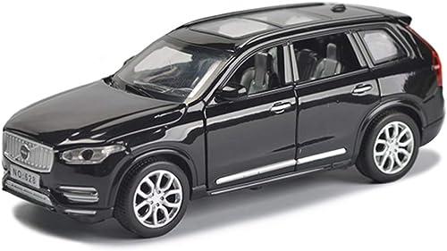 diseños exclusivos AZHom Modelo de Coche Coche Coche Coche 1 32 Volvo XC90 Off-Road Simulación de aleación de fundición de Juguetes Adornos colección de Coches Deportivos joyería 15x6x5.5 CM Auto Modelo ( Color   negro )  muchas sorpresas