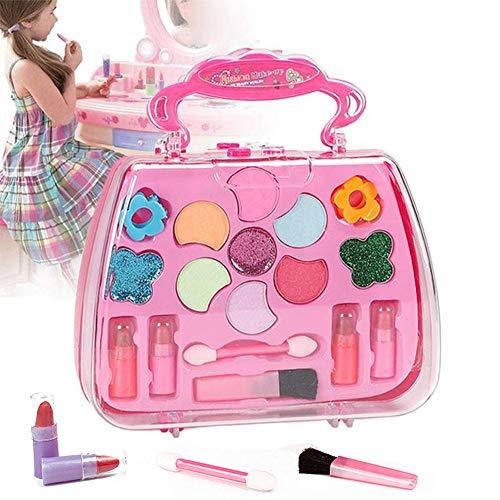 zhuangyulin6 Kit para niñas no tóxico, Kit de Maquillaje para niñas de Seguridad, Set de cosméticos para niños, Juguetes de Maquillaje para niñas, Kit de Maquillaje para niñas