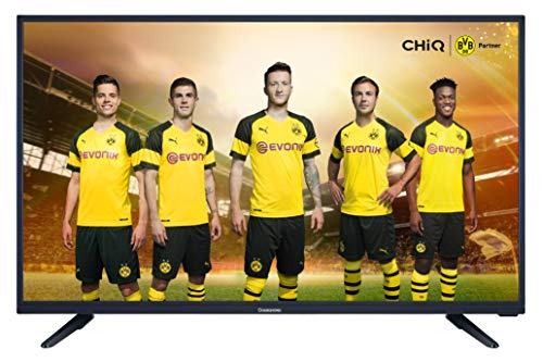 Changhong LED40E4000ST2 100 cm (40 Zoll) LED-Fernseher (Full HD), Triple Tuner, CI+, H.265, Dolby Plus, [Energieklasse A] Schwarz.