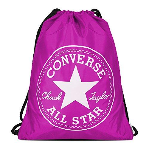 Converse Big Logo Turnbeutel, Violett, One Size