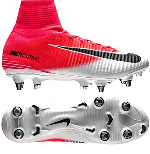 Nike Men's Mercurial Superfly V SG-PRO (831956) Racer Pink Size 12.5