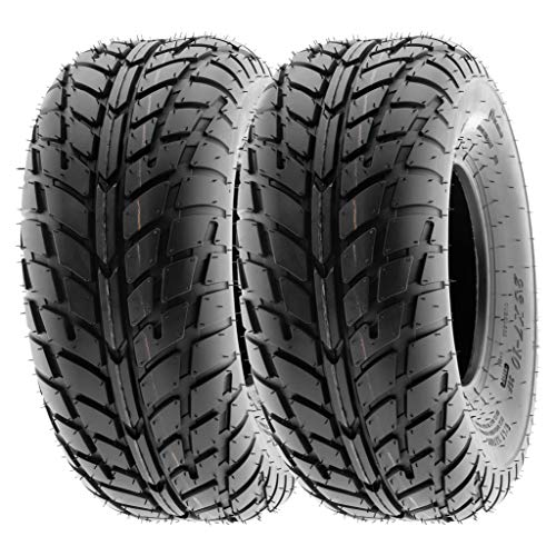 SunF 145/70-6 145/70x6 ATV UTV Tires 6 PR Tubeless A021 [Set of 2]