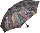 River's Edge Products Compact Folding Camouflage Army Green Camo Umbrella 42''