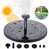 Fuente para estanques de jardín, bomba de energía solar para estanque de jardín o fuente bomba para agua flotante bomba para fuente solar bomba para estanque solar bomba para agua