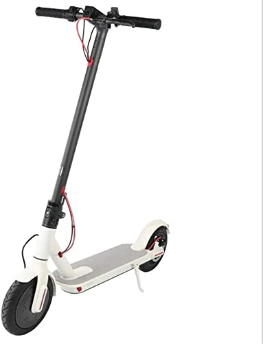 tienda en linea SanQing Scooter eléctrico para Adultos con aplicación de teléfono teléfono teléfono Inteligente y PanTalla LED, batería de Iones de Litio hasta 25 km Plegable con Sistema ABS, Adulto y Niños,blanco,36V7.8AH  nuevo listado