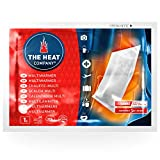 THE HEAT COMPANY Multi Scaldacorpo - EXTRA CALDO - Scaldini da trasporto - Scaldacorpo - 20 ore di calore affidabile - pronti all'uso - autoriscaldante - puro naturale - 10 pezzi