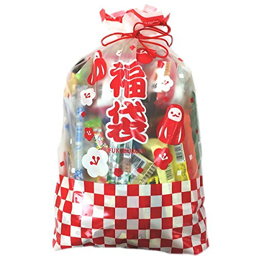 ★亀のすけ店オリジナル★駄菓子詰め合わせセット 約100点 福袋ギフト袋付き