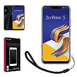 【 shizuka-will- 】ASUS Zenfone 5 ZE620KL ケース TPU 高透明 耐衝撃 衝撃吸収 ストラップ付 Zenfone5 ZE620KL ソフト クリア ケース カバー