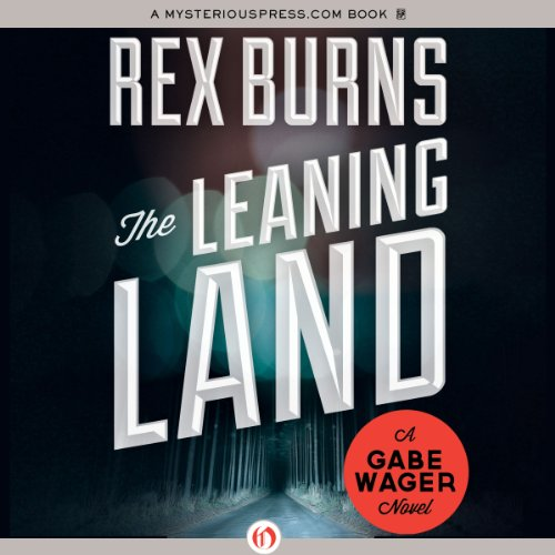 The Leaning Land audiobook cover art
