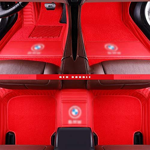 Rzj-njw Customcar tapetes para BMW E90 E46 G30 F10 F11 F30 F45 X3 E83 X1 X3 X5 F25 F15 E30 E34 E60 E65 E70 Todos los Modelos de Coches Mats,D
