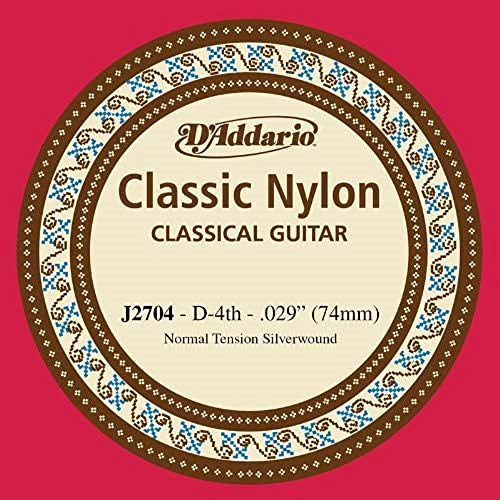 D'Addario J2704 Corda Singola Classica J27 Classic Nylon