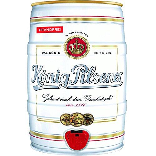 König Pilsener Cerveza Rubia Alemana Barril 5 L