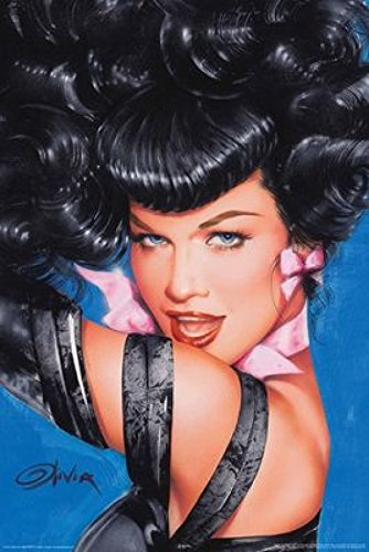 Olivia - Bettie Page Eyes Poster Drucken (60,96 x 91,44 cm)