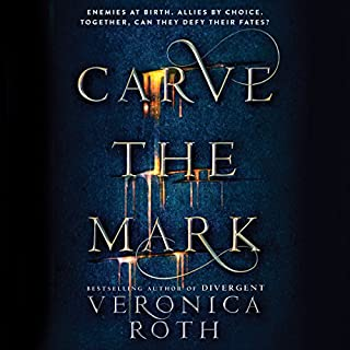 Carve the Mark                   Written by:                                                                                                                                 Veronica Roth                               Narrated by:                                                                                                                                 Austin Butler,                                                                                        Emily Rankin                      Length: 15 hrs and 6 mins     22 ratings     Overall 4.4