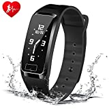 Blood Pressure Bracelet Fitness Tracker - Newyes S4Plus Smart Watch with SPO2H Heart