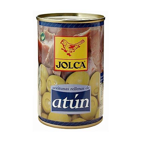 Aceitunas Atun - Spanische grüne Oliven mit Tunfischpaste gefüllt