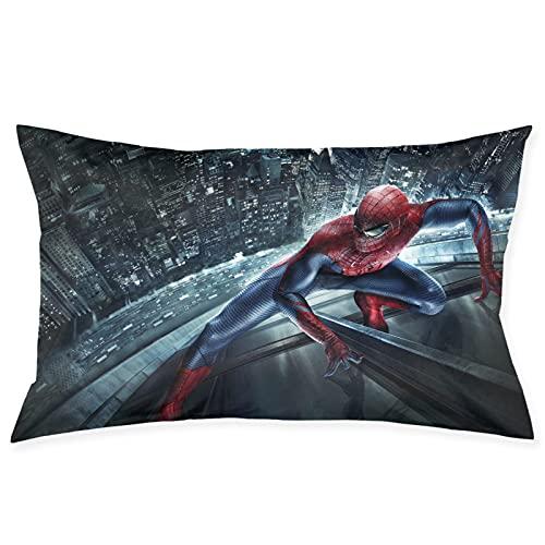 Spiderman Spring Almohadas, espuma de memoria, almohada de sueño profundo, cubierta de tencel con muelles de bolsillo, almohada, firme, perfecto para cuello/hombro