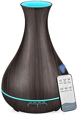 550ミリリットルリモコンアロマ空気ディフューザー超音波空気加湿器エッセンシャルオイルアロマディフューザークールミストメーカー用ホーム (色 : B)