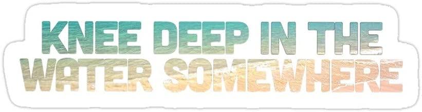 Vijk kor Knee Deep in The Water Somewhere Stickers (3 Pcs/Pack)