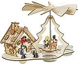 SEEAS Pyramide mit Räucherhaus Hänsel und Gretel - wunderschöne Märchenpyramide mit Märchenräucherhaus