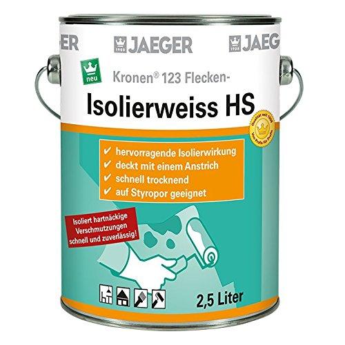 Kronen Isolierweiss 123 HS Isolierfarbe 2,5 Liter