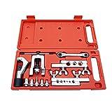 DCHOUSE Juego de herramientas para reparación de tubos, cortador de tubos, expansor de refrigeración con estuche