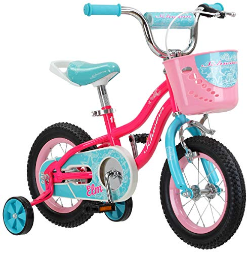 Schwinn Elm Girl's Bike, Featuring SmartStart Frame to Fit Your Child's Proportions, 12inches...