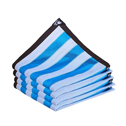GYH Beschattungsnetz Schatten Tuch Shading Net, Verschlüsselung Eindickung Sonnenschutz Anti-Aging-Shading Net, Haupthofdekorationen Balkon Isolierung Netz, 1 Meter 1-Loch sonnensegel (Size : 6mx8m)