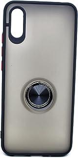 Metal Magnet Ring Holder Case For Xiaomi Redmi 9A (Black)