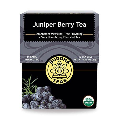 Buddha Teas Organic Juniper Berry Tea | 18 Bleach-Free Tea Bags | Antioxidants | Made in the USA | Caffeine-Free | No GMOs