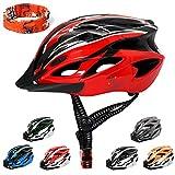 ioutdoor Erwachsene Fahrradhelm CE EN1078, EPS-Körper + PC-Schale, Robust und Ultraleicht, mit...