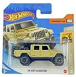 Hot Wheels '20 Jeep Gladiator (caqui) 4/10 Baja Blazers 2020 - 157/250 (tarjeta corta) GHD86