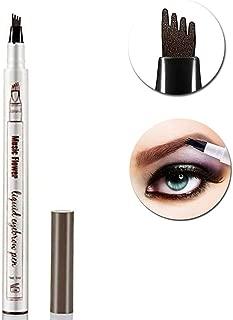 Tattoo Eyebrow Pen Tat Brow Pen Microblade Eyebrow Tattoo Pen Microblading Eyebrow Pen Tattoo Brow Ink Pen Tattoo Brow Tint Pen (Chestnut)